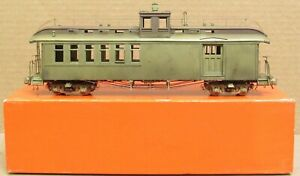 """Precision Scale On3 D&RGW """"Pagosa Junction"""" Caboose-Combine  *BRASS* O-Scale"""