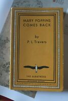 MARY POPPINS COMES BACK by P.L. Travers THE ALBATROSS LIBRO IN LINGUA Inglese