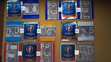 PANINI EM 2016 EURO France 12 different packs verschiedene Tüten choose packets