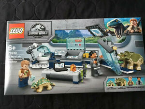 Lego 75939 Jurassic World Dr. Wu's Lab Baby Dinosaurs Breakout Set Brand New