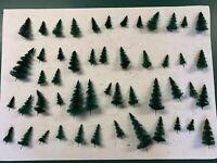 Großes Konvolut Tannen, Stecktannen, Bäume, 50 Stück, H0, Schnäppchen !!!
