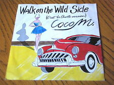 "Coco M. - Walk on the Wildside 7"" vinyle PS"
