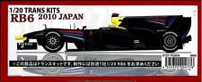 STUDIO27 1/20 Trans Kit RB6 2010 JAPAN Red Bull Tamiya