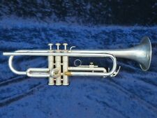 Yamaha YTR-232S Silver Trumpet Ser#038046A Plays Great with a Nice Round Sound