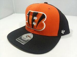 '47 Brand Strapback Super Move NFL Cincinnati Bengals with AFC Logo Cap Hat