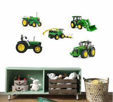 John Deere Tractor Removable Kids Wall Sticker Boys Vinyl Decal Nursery Decor