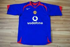 SIZE M MANCHESTER UNITED 2006-2007 THIRD FOOTBALL SHIRT JERSEY NIKE VODAFONE
