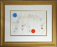 """Salvador Dali """"Museum of Science and Industry"""" Hand Signed Etching, Make Offer!"""