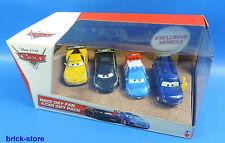 Mattel Disney Cars Y7334 / Race Day Fan 4-Car Gift Pack 4 Autos im Geschenk Set