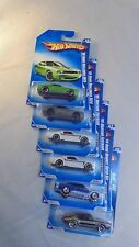 Lot of 6, Hot Wheels Muscle Mania '09 series #6, #7, #9 x 2, #10 x 2 Unopened