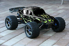 Muddy Monster Black Body for Traxxas E-Revo 1/10 Volkswagen Baja Bug Beetle 6811