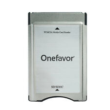 Onefavor PCMCIA to SD SDHC PC Card Reader for Mercedes-Benz GLK/SLK/CLS/E/C