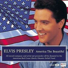 ELVIS PRESLEY - America the Beautiful- 2001 - CD  & Enhanced  With Video - New