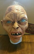 Halloween Costume LORD OF THE RINGS GOLLUM LATEX DELUXE MASK Haunted House NEW