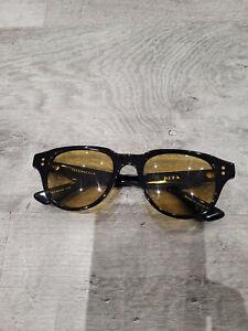 Used Sunglasses DITA Telehacker Black light green tint