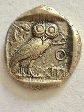 Attika Athen Eule Tetradrachme C.a 454-404 Silber
