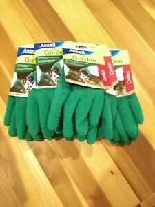 Ansell Gloves Garden Comfort Size Large New With Packaging Bulk Lot Of 6 Bargain