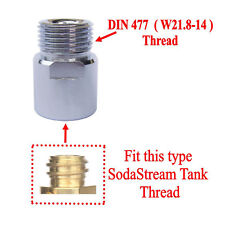 CO2 Cylinders Tank Soda Stream SodaStream Thread to W21.8-14 Converts Adapters