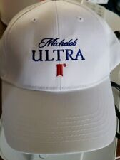 White Michelob Ultra Hats