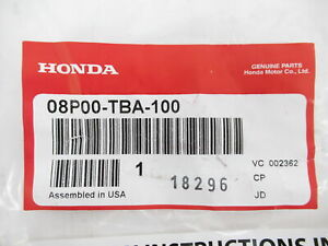 Genuine OEM Honda 08P00-TBA-100 Splash Guards Mud Flaps 4pc Set 2016-2021 Civic