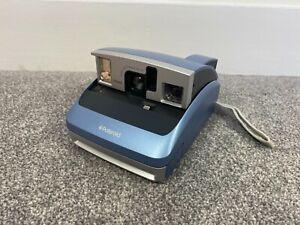 Polaroid One 600 Classic Instant Print Retro Film Camera Blue - Tested Vintage