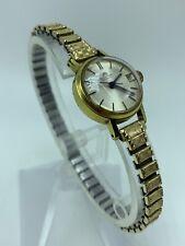 Vintage Bucherer Automatic Swiss Watch 5925 10k RGP Top Caps 10k RGP Ends Works