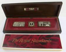 Royal Standards Silver Medallions set of 3 4.20z Queens silver Jubilee 1977