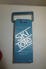 Ski Tote snow carrier Covell blue