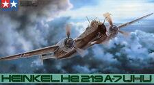 1/48th Scala SECONDA GUERRA MONDIALE Heinkel He219 UHU KIT MODELLO PER TAMIYA #61057
