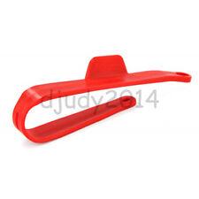 Red Chain Slider Swing Arm Protector For Honda Dirt Pit Bike TTR KTM Apollo 200