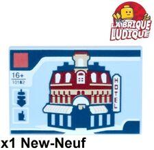 Lego 1x Kachel Verziert 2x3 Cafe Corner Ecke Hotel 10182 10255 26603pb001 Neu
