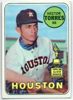1969 TOPPS #526 HECTOR TORRES HOUSTON ASTROS ALL-STAR ROOKIE CARD MLB BASEBALL