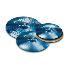 Paiste Color Sound 900 Blue 4 Piece Rock Cymbal Set/Free Cymbal Bag-Sticks/NEW