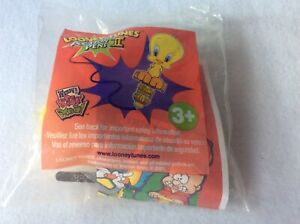 NIP Tweety Bird Looney Tunes Action Pens II Wendy's 2001
