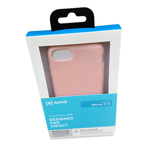 iPhone SE 2020 Case Pink - Speck CandyShell Lite Quartz Pink for iPhone 6s/7/8