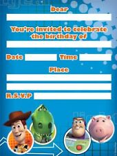 Toy Story Party Supplies Party Invitations with Envelopes pack of 8