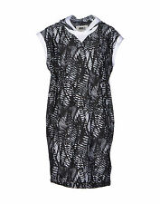 NWT MM6 by MAISON MARGIELA  Hooded black and white dress