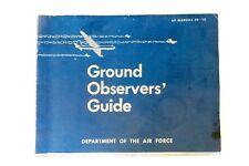 Korean War 1951 US Dept. of the Air Force Ground Observers Guide AF Manual 50-12