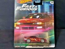 HOT WHEELS PREMIUM - FAST & FURIOUS ( ORIGINAL FAST) NISSAN 240 SX S14 1/5