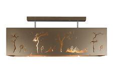 Modern Lamp, geometric design, ceiling light BRONZE WIND