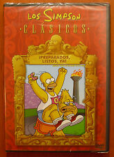 Los Simpson ¡Preparados, listos, ya! [DVD] Homer Bart Lisa Marge Maggie ¡NUEVO!