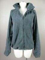 Columbia Women's Size XL Gray Long Sleeve Fleece Pockets Sweat Top 778