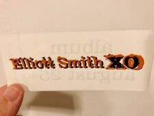Elliott Smith RARE Original Authentic Promo Sticker XO 1998 Heatmiser Indie LP