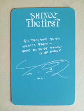 """SHINEE """"The First"""" Special Photo Card - from Fan Site, unofficial, Thin - Taemin"""