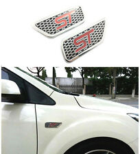 Car Body Side Vents Modified ST Mark Decoration Sticker For Ford Focus Mondeo