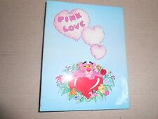 Quaderno Anelli Pink Phanter Pantera Rosa SCHOOL Scuola Ring Binder Vintage