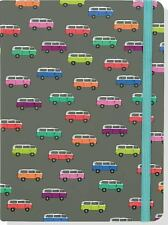 NWT Peter Pauper Press Colorful Hardback VW Microbus Lined Journal Awesome!! FS