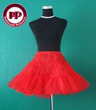 Rock n Roll 50's Underskirt/ Petticoat Slip TUTU Red FREE P&P