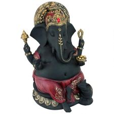 "14"" India Hindu god statue of Power, Peace & Wisdom Ganesha Prosperity Statue"
