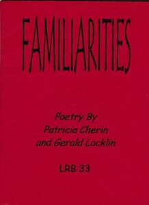 GERALD LOCKLIN FAMILIARITIES 2001 POETRY MINI BOOK ***